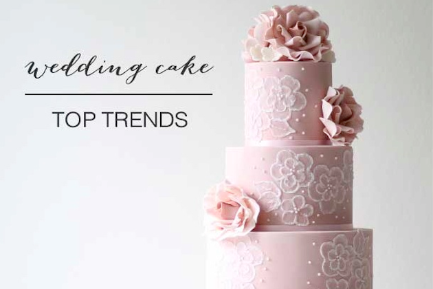 wedding cake trends by Ivory and Rose Cake Company