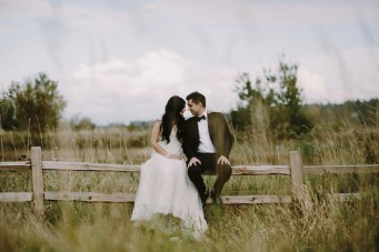 Rustic Romance: A Modern Indian Wedding in British Columbia