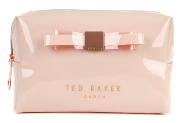 Ted Baker Cosmetic Bag for Items Every Bride Needs in Her Wedding Day Survivial Kit