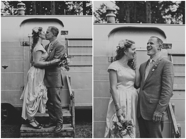 Trailer Park Wedding | Terra Rothman Photography | Bridal Musings Wedding Blog
