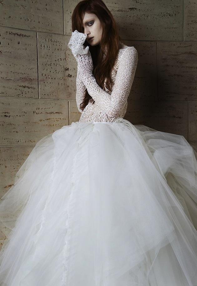 Vera Wang Wedding Dress Collection Spring 2015