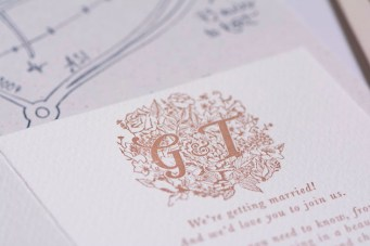 Gemma's Musings: Real Bride Entry #4 The Pretty Paper