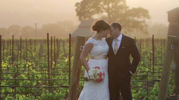 Beautiful Winery Wedding Film by Hampton Road Studios | Bridal Musings Wedding Blog 2