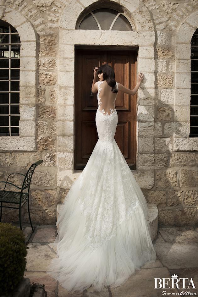 Exclusive Look Berta Wedding Dresses Summer Edition Bridal Musings Weddbook