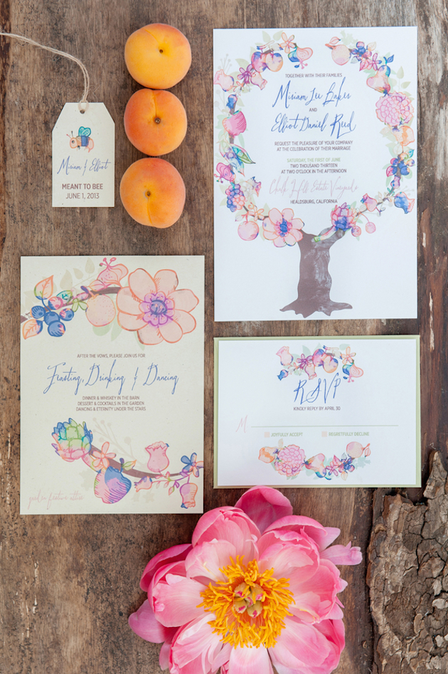 Fruits of the Earth Inspiration Shoot | Rebecca Gosselin Photography | Bridal Musings Wedding Blog 13