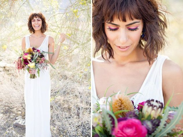 How to Wear a Bob for your Wedding | Bridal Bobs | Bridal Musings Wedding Blog 15