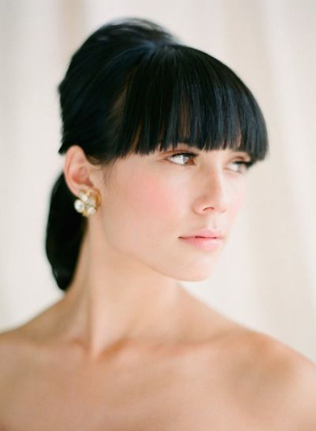 How to Wear a Bob for your Wedding | Bridal Bobs | Bridal Musings Wedding Blog 37