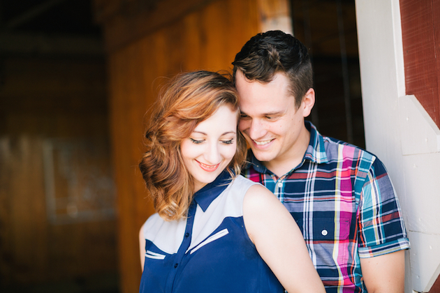 Ranch Engagement Shoot | Hunter Ryan Photo | Bridal Musings Wedding Blog 10