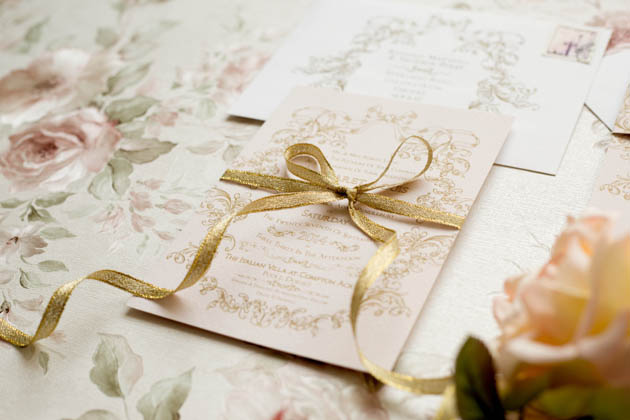 Rose Amp Ruby Paper Co Wedding Invitations