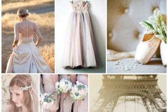 Ballet Chic: Dusty Rose and Lilac Wedding Inspiration Board