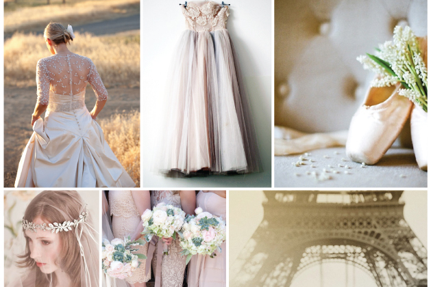 Rose and Ruby Inspiration Board | Bridal Musings 2