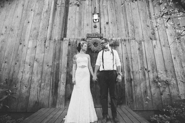 Sweet Rustic Wedding with DIY Details | Matthew James Photography | Bridal Musings Wedding Blog 19