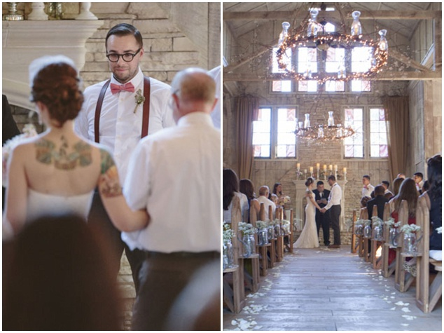Sweet Rustic Wedding with DIY Details | Matthew James Photography | Bridal Musings Wedding Blog 30