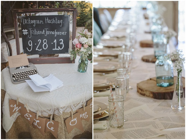 Sweet Rustic Wedding with DIY Details | Matthew James Photography | Bridal Musings Wedding Blog 32