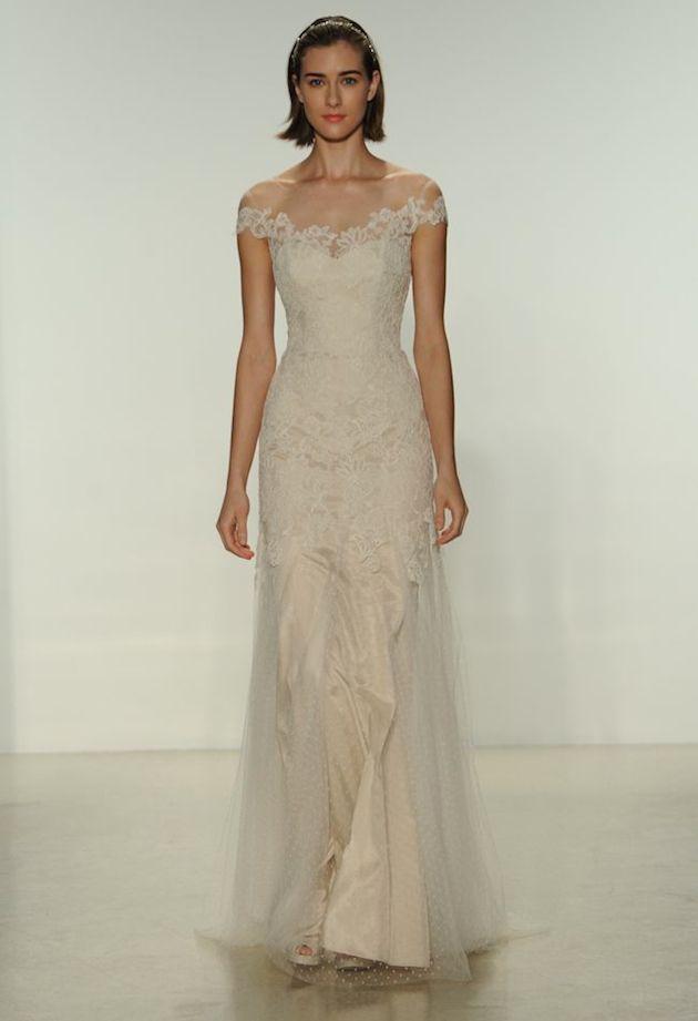 Romantic Off the Shoulder Wedding Dresses