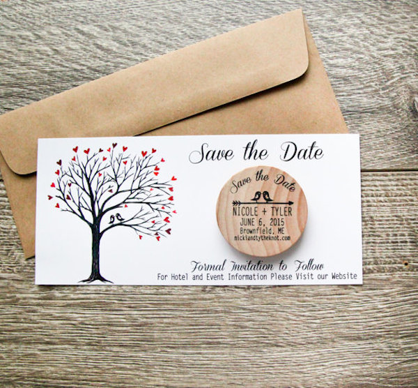 10 Unique Save The Date Ideas | Bridal Musings Wedding Blog 9: bridalmusings.com/2014/06/ten-unique-ways-save-date