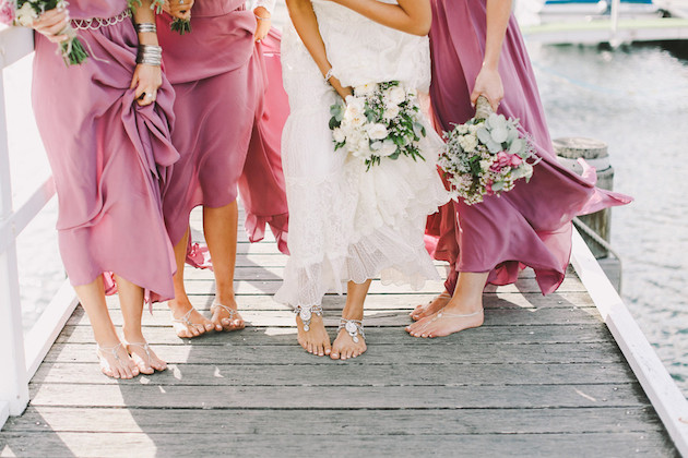 Barefoot Beach Brides | Bridal Musings Wedding Blog 9