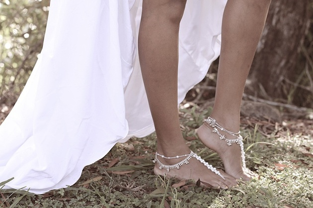 Barefoot Bridal Inspiration | Bridal Musings Wedding Blog 7