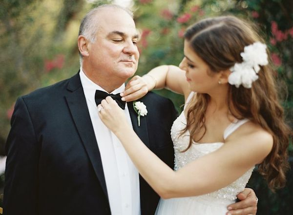 Beautiful Father of the Bride (and Groom) Moments | Bridal Musings Wedding Blog 10