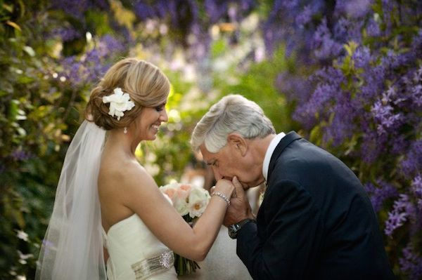 Beautiful Father of the Bride (and Groom) Moments | Bridal Musings Wedding Blog 13