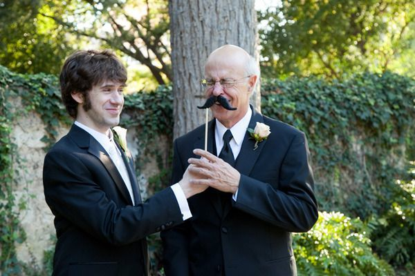 Beautiful Father of the Bride (and Groom) Moments | Bridal Musings Wedding Blog 2