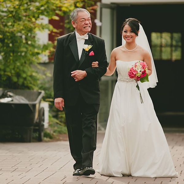Beautiful Father of the Bride (and Groom) Moments | Bridal Musings Wedding Blog 25