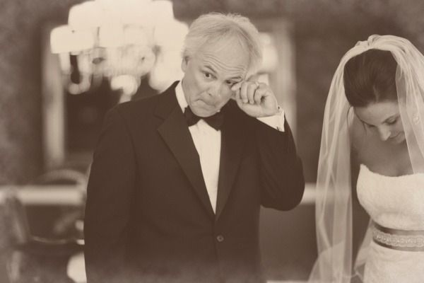 Beautiful Father of the Bride (and Groom) Moments | Bridal Musings Wedding Blog 31