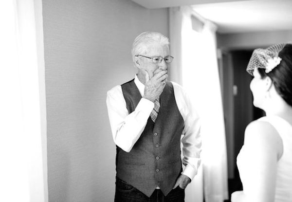Beautiful Father of the Bride (and Groom) Moments | Bridal Musings Wedding Blog 7