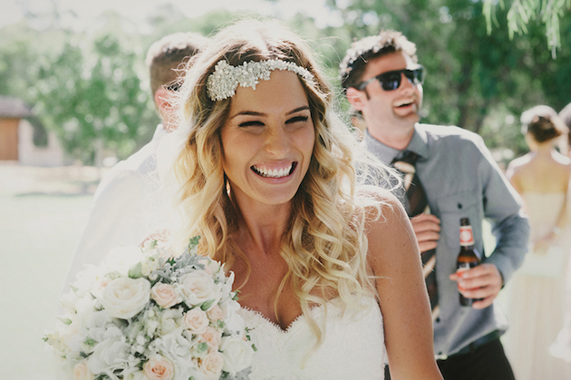 Beautiful Outdoor Wedding with a Beaming Bride | CJ Williams Photography | Bridal Musings Wedding Blog 11