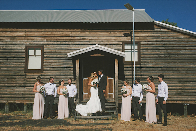 Beautiful Outdoor Wedding with a Beaming Bride | CJ Williams Photography | Bridal Musings Wedding Blog 17