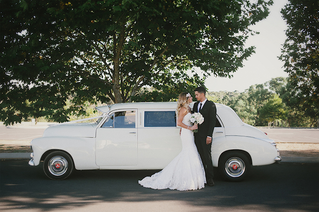 Beautiful Outdoor Wedding with a Beaming Bride | CJ Williams Photography | Bridal Musings Wedding Blog 21