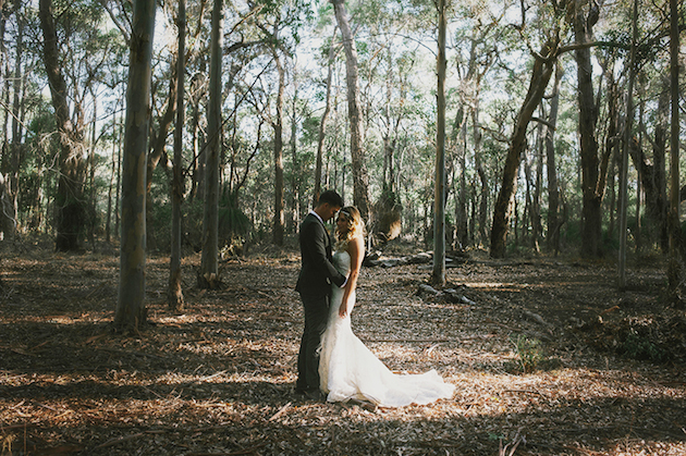 Beautiful Outdoor Wedding with a Beaming Bride | CJ Williams Photography | Bridal Musings Wedding Blog 22