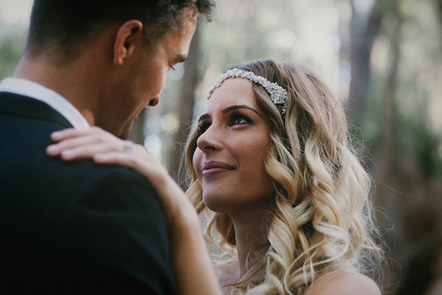 Beautiful Outdoor Wedding with a Beaming Bride | CJ Williams Photography | Bridal Musings Wedding Blog 24