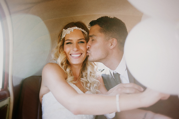 Beautiful Outdoor Wedding with a Beaming Bride | CJ Williams Photography | Bridal Musings Wedding Blog 25