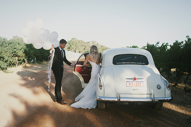 Beautiful Outdoor Wedding with a Beaming Bride | CJ Williams Photography | Bridal Musings Wedding Blog 26