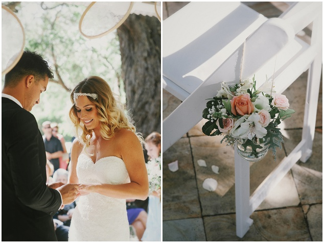 Beautiful Outdoor Wedding with a Beaming Bride | CJ Williams Photography | Bridal Musings Wedding Blog 33