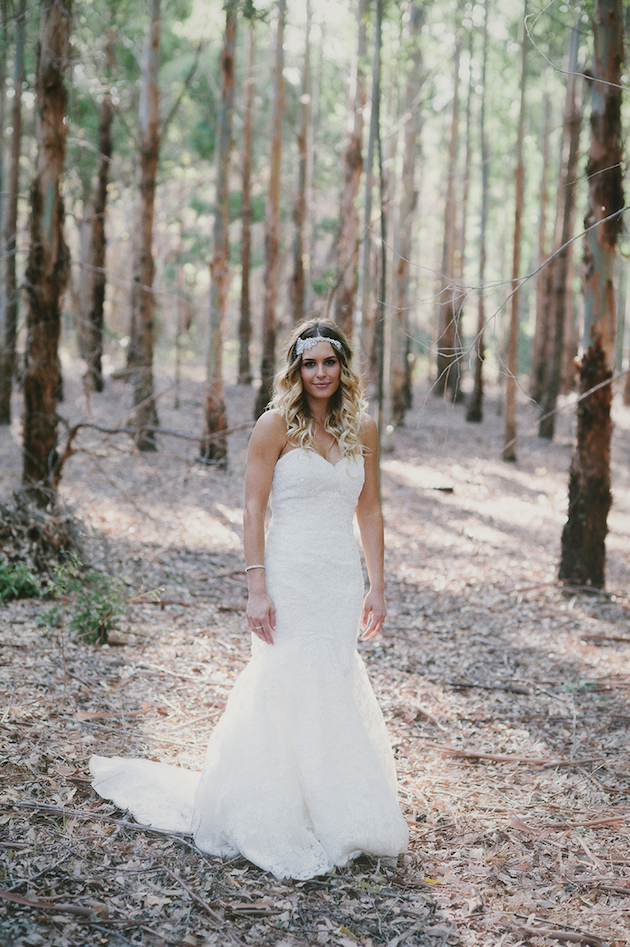 Beautiful Outdoor Wedding with a Beaming Bride | CJ Williams Photography | Bridal Musings Wedding Blog 36