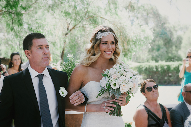 Beautiful Outdoor Wedding with a Beaming Bride | CJ Williams Photography | Bridal Musings Wedding Blog 6