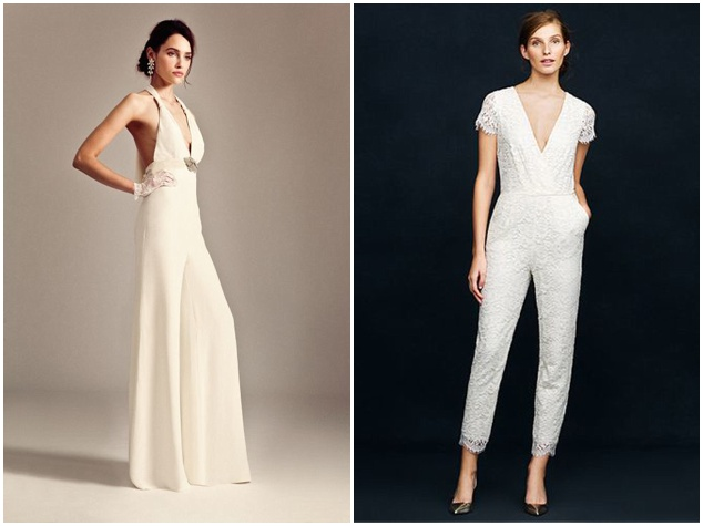 And The Bride Wore The Trousers Wedding Day Jumpsuitsrompers And