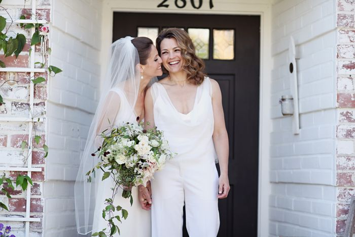 And The Bride Wore The Trousers Wedding Day Jumpsuits Rompers And