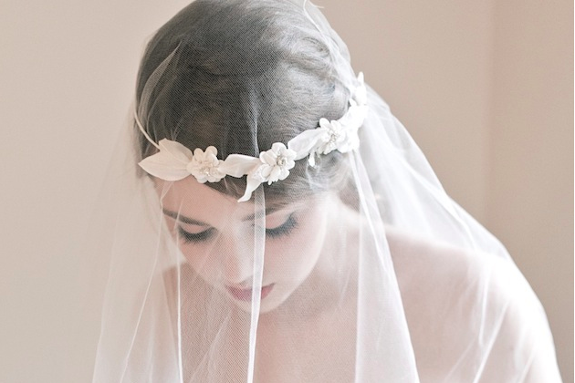 Enchanted Atelier veil and headpiece