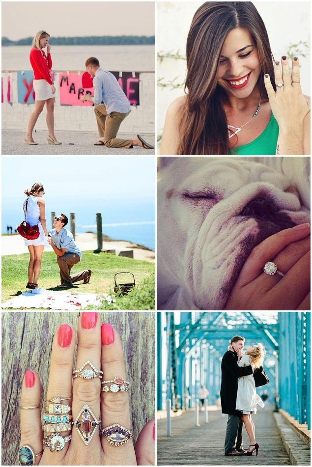 How He Asked | Top Ten Instagrams Accounts To Follow For Wedding Inspiration | Bridal Musings Wedding Blog 6
