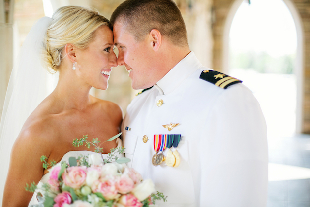 Intimate Military Wedding in Oklahoma | Aubrey Marie Photography | Bridal Musings Wedding Blog 13