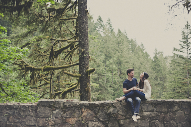 Romantic Woodland Engagement Shoot | Terra Rothman Photography | Bridal Musings Wedding Blog 13