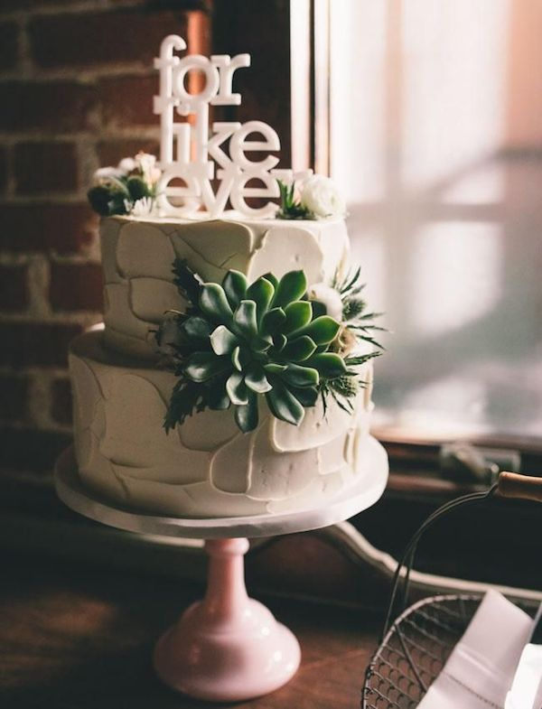 Ultimate Inspiration Guide for Succulents at your Wedding | Bridal Musings Wedding Blog 16