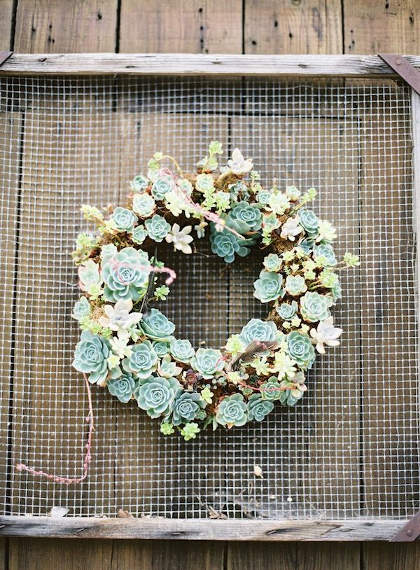 Ultimate Inspiration Guide for Succulents at your Wedding | Bridal Musings Wedding Blog 30