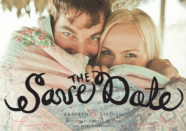 Unique Ideas to Save The Date Bridal Musings Wedding Blog