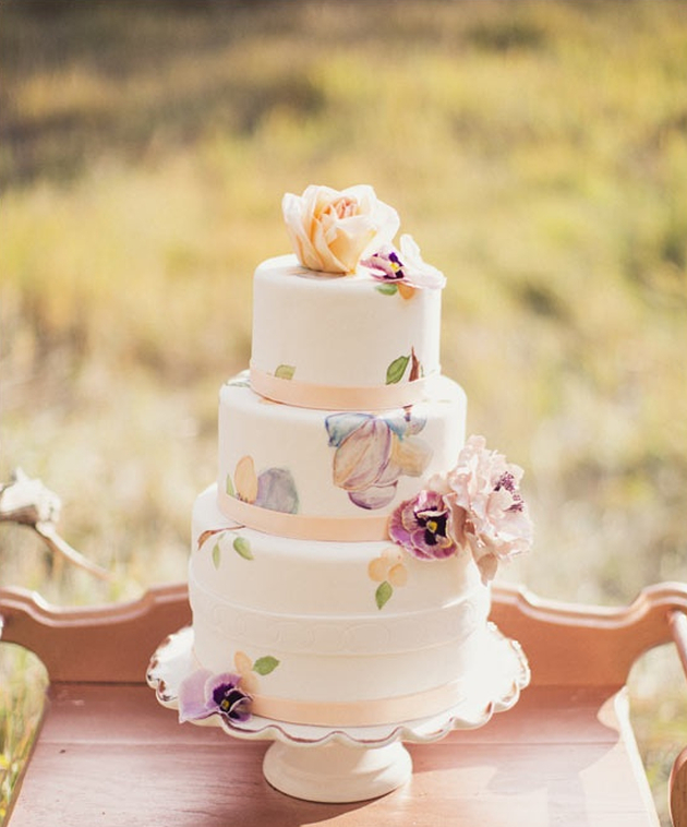 2014 Wedding Cake Trends #5 Vintage Wedding Cakes | Bridal Musings ...