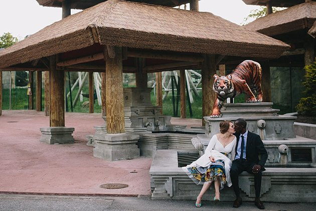 Zoo Wedding Film | The Girl Tyler | Bridal Musings Wedding Blog