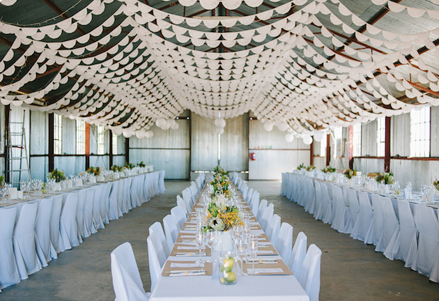 Wedding Ideas Blog: 10 New And Unique Ways To Use Bunting At Your Wedding